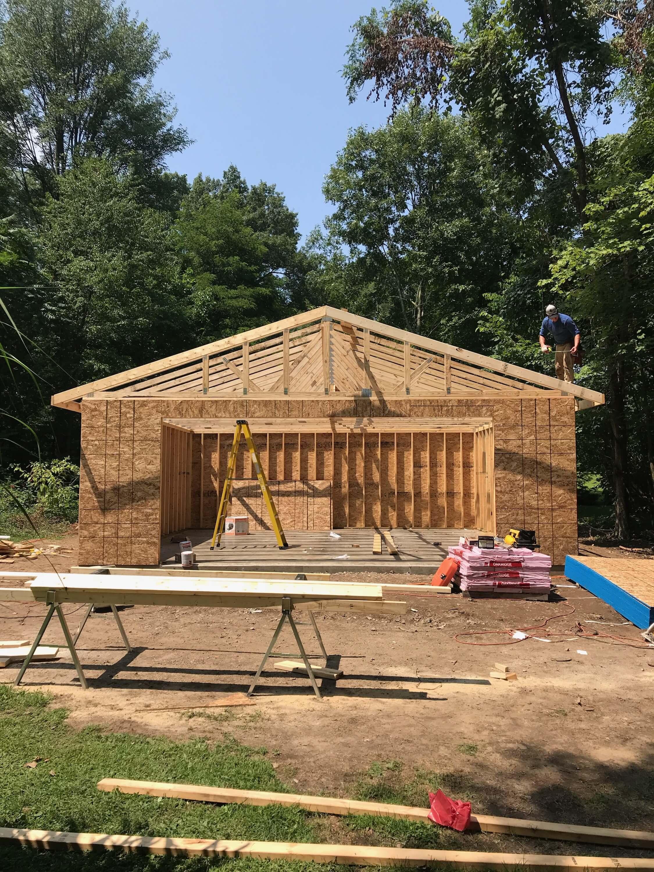 Garage Construction Michigan Amp Indiana Pole Barn